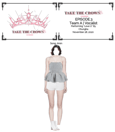 """""""Take The Crown"""" Ep.3[Team A][Vocalist] Song Jimin"""