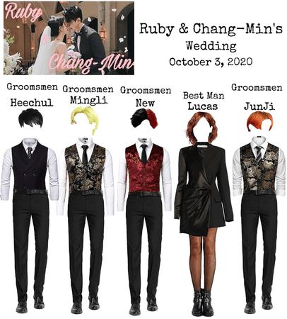 Shadow at Ruby & Chang-Min Wedding