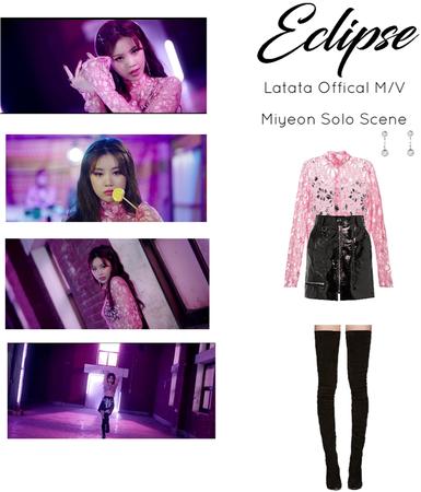 ECLIPSE Latata M/V Miyeon Solo Scene