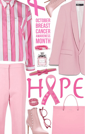 Who do you wear pink for...?