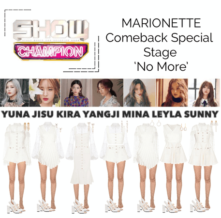 {MARIONETTE} Show Champion Comeback Special Stage