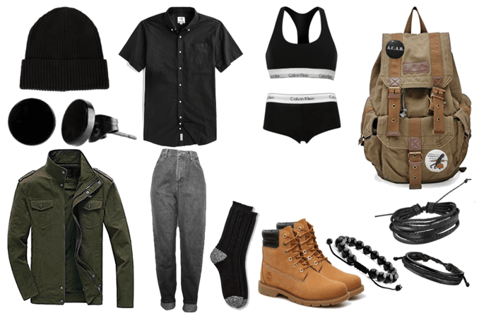 Butch University Outfit