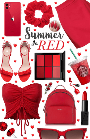 Summer In Red | SUMMER IN WHAT COLOR? CHALLENGE