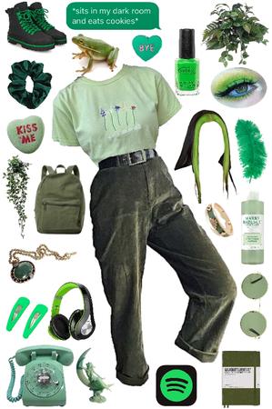 green baby 💚