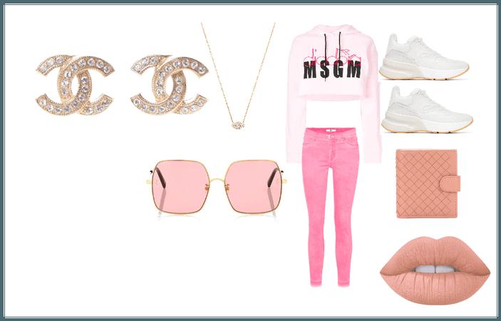 pinky cute day