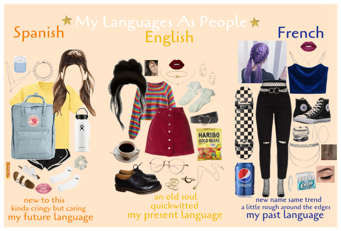 My Languages As People