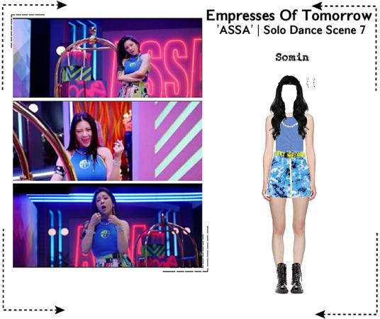 EOT(토모의 황후)   'ASSA' Solo Dance Scene 7