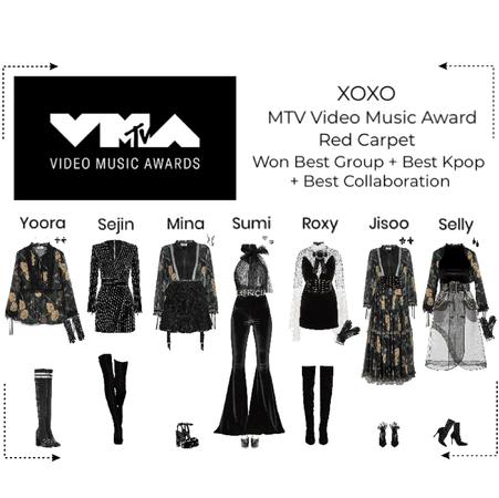 XOXO MTV VMA red carpet