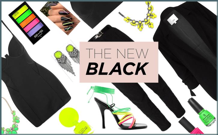 The Neon Black