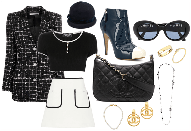 Vintage Chanel Inspired Look