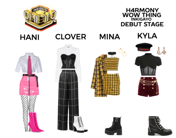((H4RMONY)) Wow Thing - Inkigayo Debut Stage