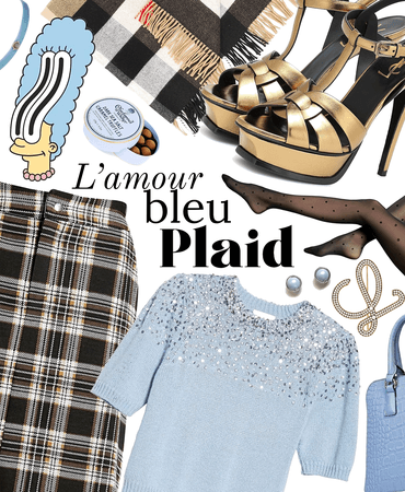 icy plaid is a thing