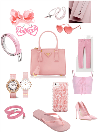 Pink bag all pink