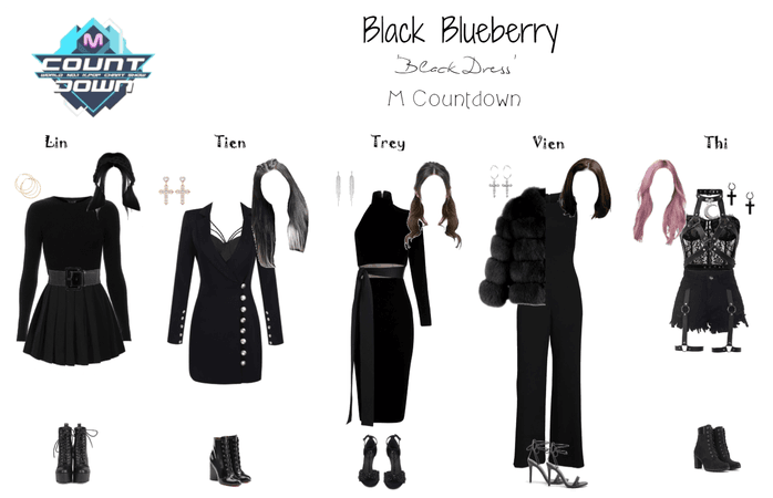 (bb) 'Black Dress' M Countdown