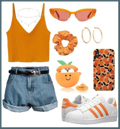 orange as a person
