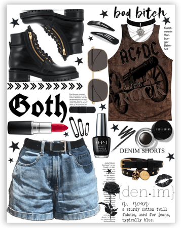 Punk Rock Jean Outfit