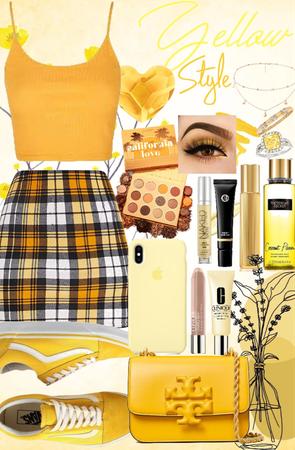 yellow style