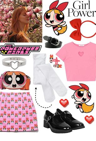 POWERPUFF GIRLS: Blossom