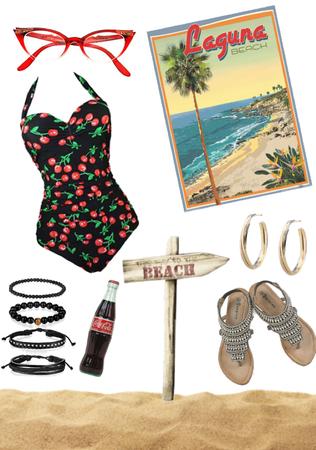 Vintage Summer Swimsuit