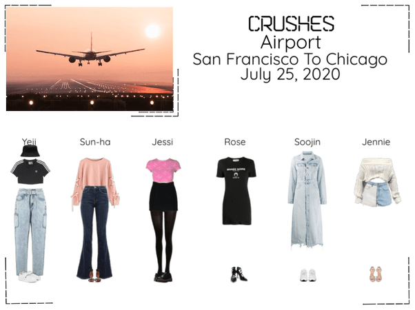Crushes (호감) Airport San Francisco To Chicago