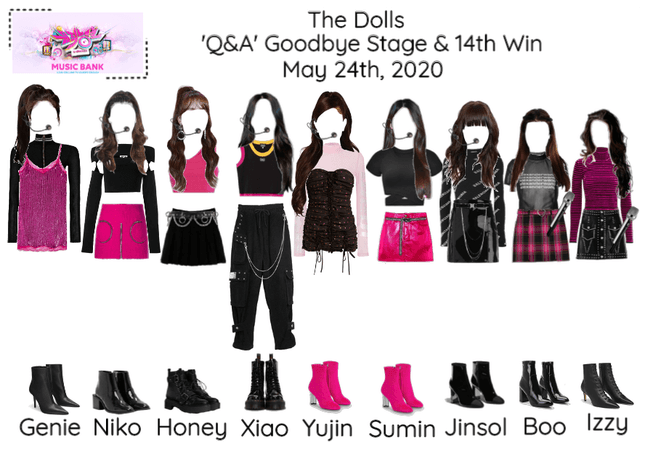 [Q&A - The Dolls] Music Bank & Read D