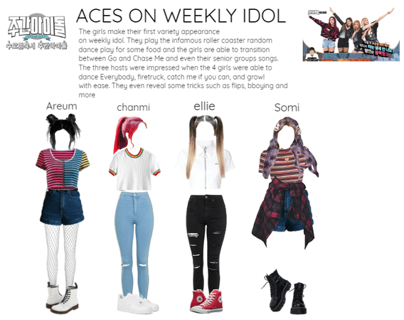 [ACES] Appearance on Weekly Idol