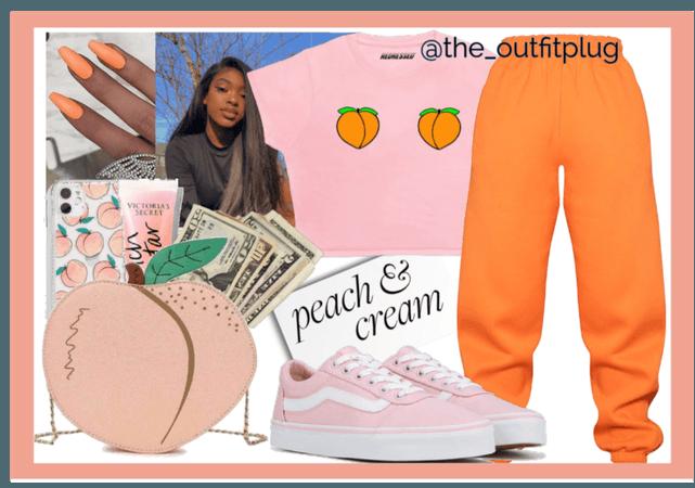 peaches and cream🍑