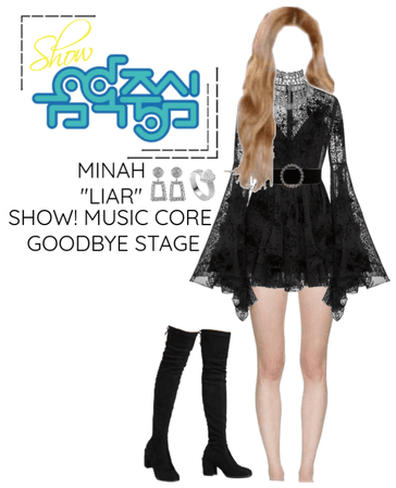 "Minah - ""LIAR"" Show! Music Core Goodbye Stage"