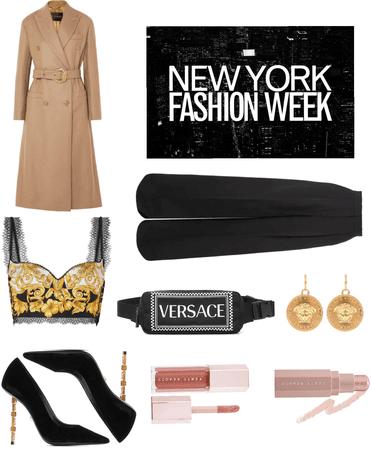 NYFW Street Style | Versace
