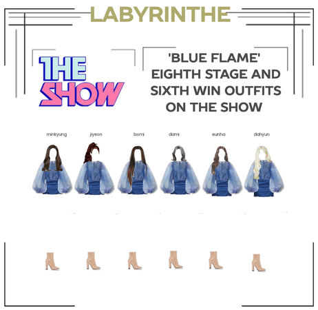 LABYRINTHE BLUE FLAME 8TH STAGE