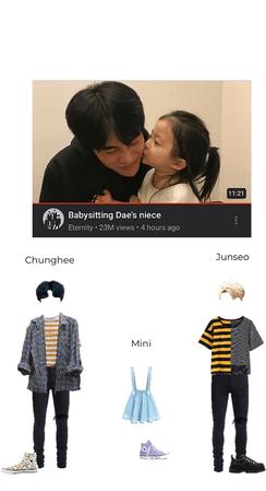 Babysitting Dae's niece
