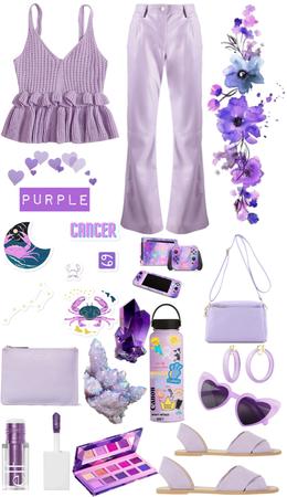Purple fit ♋️💜🔮🍆☂️🦄