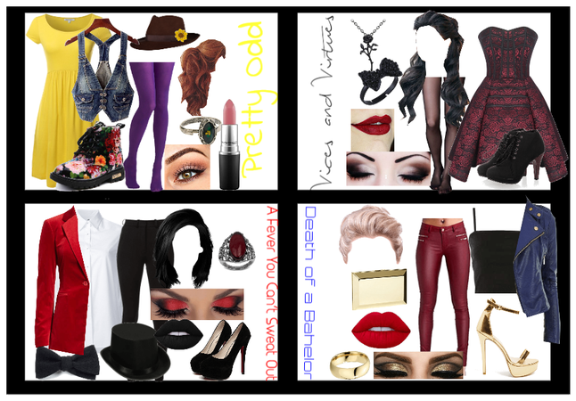 Panic at the disco album inspired outfits
