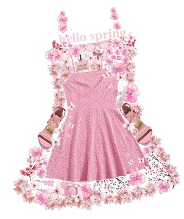 spring dress, pretty dress