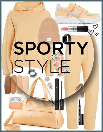 Sporty Looks Challenge FT Light Orange