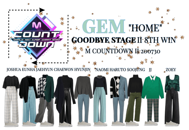 "GEM ""HOME"" II GOODBYE STAGE"