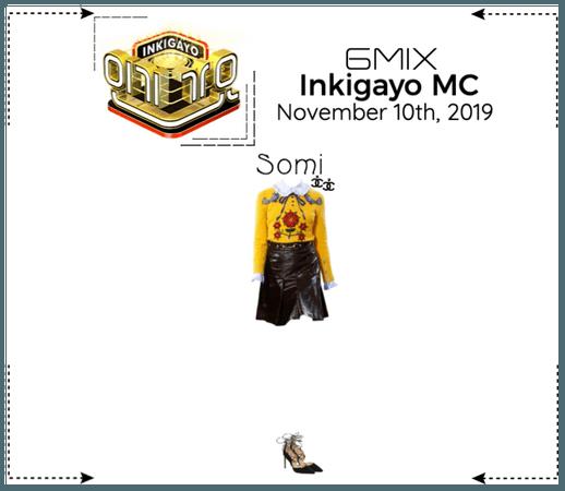 《6mix》Inkigayo MC - Somi