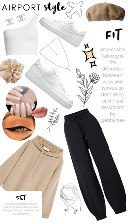 Airport Fit: Comfy but cool