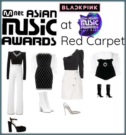 Blackpink at MAMA Red Carpet
