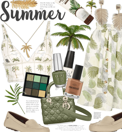 A Palm tree summer 🌴