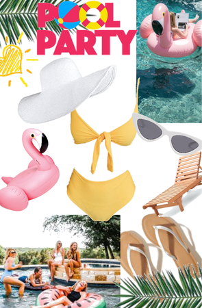 Cannonball! | Outfit perfect for a pool party!