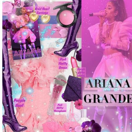 Shine on  ariana Grande| fan celeb style