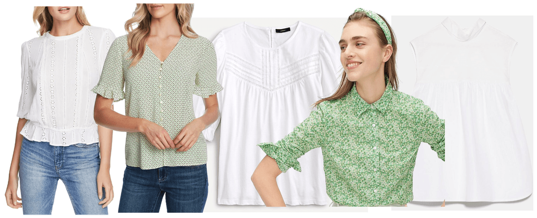 Sweet Tops for Spring