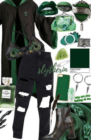 slytherin fit