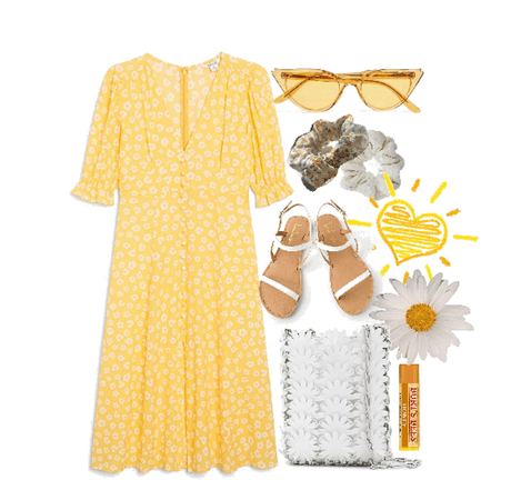 simple summer in yellow