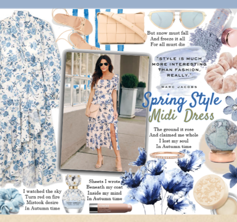 Style a Spring Midi Dress
