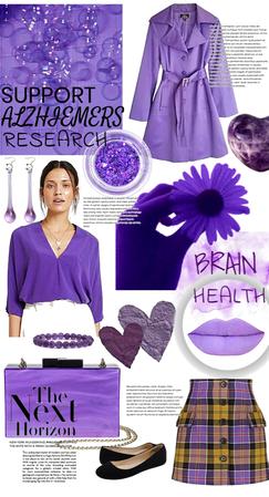 Support Alzheimer's Research💜