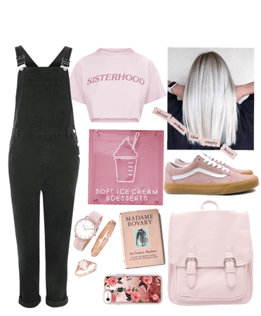 casually pink