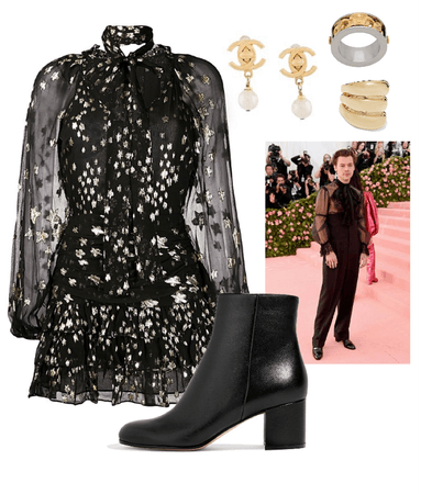 Harry Styles (Inspired) Met Gala Look