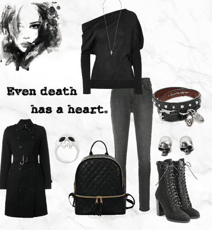 Black school outfit